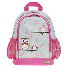 Bobble Art Small Backpack - Owl