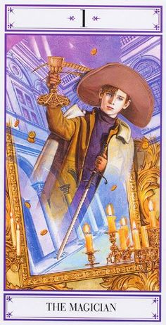 Unmei tarot the Magician #Magicians
