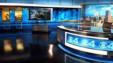 KCNC CBS 4, Denver, CO - Broadcast Design International, Inc. Tv Set Design, Stage Set Design, News Studio, Studio Ideas, Dance Stage, Virtual Studio, Tv Sets, Living Room Tv, Museum Exhibition