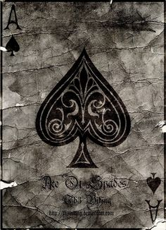Poker ace of spades Ace Of Spades Tattoo, Dibujos Pin Up, Ace Card, Play Your Cards Right, Playing Cards Art, Joker Card, Card Tattoo, Heart Cards, Black Heart