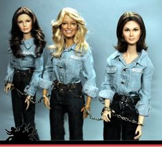 Jaclyn Smith, Farrah Fawcett and Kate Jackson of Charlie's Angels. Noel Cruz…