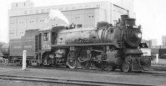 Richard Leonard's Random Steam Photo Collection -- Canadian Pacific 4-6-2 1278