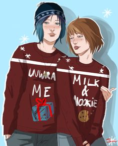 """Pricefield (Life is Strange) - """"Christmas card from the 70′s"""" by SummerFellDraws"""