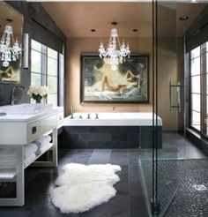 Glamorous bathroom   Bathroom Shower