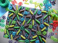 Pasta Patterns   Back in 1957, the BBC broadcast a brilliant April Fool's Day hoax about spaghetti growing on trees, and showed footage o...