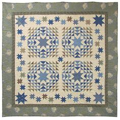 Star Spangled Quilt Kit from Stitching Post