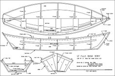 Boat Plans - PDF Dory Boat Plans Free diy boat bookscase - Master Boat Builder with 31 Years of Experience Finally Releases Archive Of 518 Illustrated, Step-By-Step Boat Plans Make A Boat, Build Your Own Boat, Diy Boat, Plywood Boat Plans, Wooden Boat Plans, Wooden Boats, Dory, Duck Boat Blind, Boat Kits