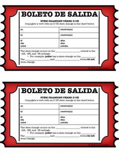 present tense stem changing verb practice worksheet spanish. Black Bedroom Furniture Sets. Home Design Ideas