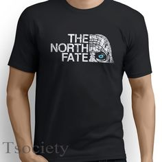 THE NORTH FATE T-SHIRT inspired Game of Thrones white walker wall funny tee E17