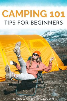 Camping Tips and Tricks for Beginners | Find all the helpful info you need to plan your first camping trip. This article puts together camping hacks and tips as well as ideas for camping meals, essentials to pack and how to find the right campsite. #camping #campingtips #solocamping #campingtrip #campinghacks Solo Camping, Camping Set Up, Camping 101, Camping Packing, Camping Essentials, Camping Life, Camping Meals, How To Pack For Camping, Solo Travel Tips