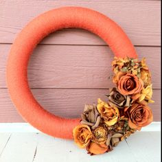 Fall wreath I made $20 contact me at palmer wreaths on Facebook if interested in custom wreath