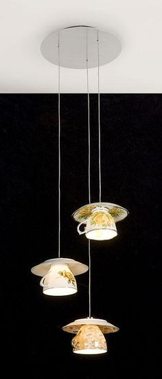 tea cup light! How cute is this?