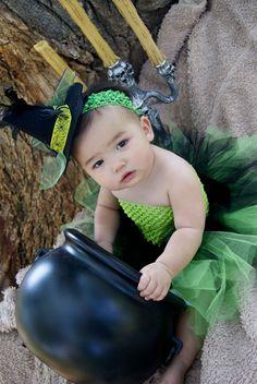 Wicked Witch Halloween Tutu Dress