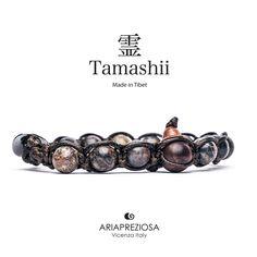 Tamashii - Bracciale Tradizionale Tibetano Agata Fiorita