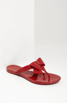 Salvatore Ferragamo 'Bali' Sandal available at #Nordstrom -- Saturday errands kicked up a notch!