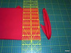 Patchwork és minden más......: Ferdepánt készítés gyorstechnikával Minden, Needlework, Quilts, Diy, Scrappy Quilts, Embroidery, Dressmaking, Couture, Bricolage