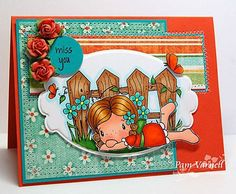 Ooooh, I love this one. Cards Diy, Kids Cards, Design Cards, Lawn Fawn, Copic Markers, Copics, Creative Cards, Happy Planner, Homemade Cards