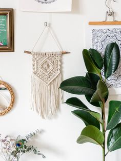Wall Hanger, Plant Hanger, Presents For Boyfriend, Summer Diy, Yarn Crafts, Diy Wall, Dream Catcher, Cross Stitch, Crafty