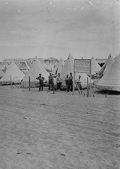 Tel Aviv  1920 or 1930, Camp
