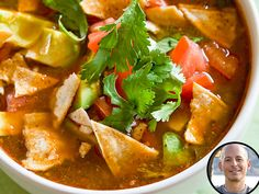 Trainer Harley Pasternak Blogs About the Benefits of Eating Avocados and shares Tortilla Soup with Avocado Recipe.