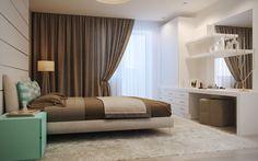 Сontemporary bedroom #paradizerender #vray #3dinterior #interior #archviz #architecturalvisualization #3dsmax #3dmax #design #architecture #render #3D