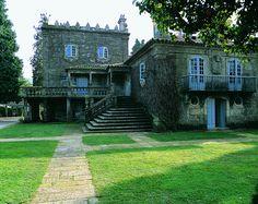 Pazo de Pousadouro, Pontevedra, Galicia, España