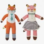 Knit Dolls - Foxes