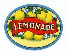 Lemonade - Duckworth Co. Posters Vintage, How To Make Labels, Lemonade, Manchester England, Buttercup, Soda, Magnets, Advertising, Craft Ideas