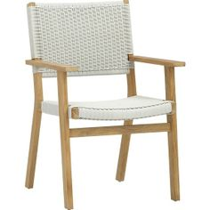 Darwin Dining Chair in Darwin/Montague | Crate and Barrel
