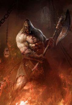 Butcher by Antonio Jose Manzanedo