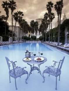 Miami South Beach: Delano Hotel Pool, South Beach, Miami, Florida, USA Photographic Print >> Explores our deals!
