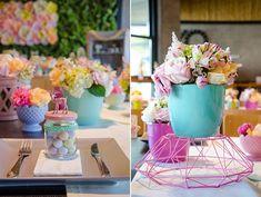 Ιδεες για βαπτιση κοριτσιου με θεμα την ανοιξη - EverAfter Christening, Pastel, Table Decorations, Ideas, Home Decor, Party, Cake, Decoration Home, Room Decor