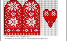 Knitting Machine, Knitting Stitches, Jumper Knitting Pattern, Knitting Patterns, Knit Mittens, Mitten Gloves, Fair Isles, Christmas Knitting, Beaded Earrings