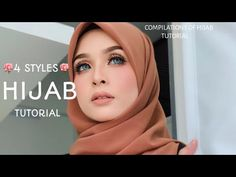 4 STYLES ||MOST RARE & SWEETS|| HIJAB SQUARE TUTORIAL|| LATEST|| Hijab Fashion, Fashion Outfits, Fashion Ideas, Hijab Style Tutorial, Mode Hijab, Hijab Outfit, Head Wraps, Hair Makeup, Sweets