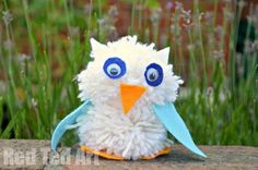 Pom Pom Owl Craft for Kids
