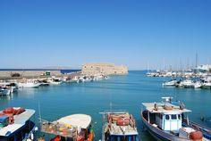SUNNY HARBOR // Heraklion, Crete // © Wouter Amerijckx