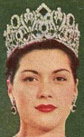 Tiara Mania: Empress Marie Louise of France's Emerald Diadem worn by Shirley Harmon