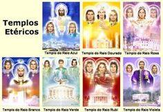 Os Sete Raios Principais Dos Mestres Da Grande Fraternidade Branca Universal.   Brasília Nova Era