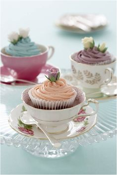 Tea Party ~ In Colors
