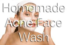 3 Homemade Acne Face Washes that will blow your mind (and acne) away!!!