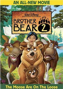 Brother Bear 2 and more on the list of the best Disney animated movies by year