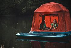 This Floating Tent Is Every Camper's Dream (Or Nightmare) Come True | Bored Panda