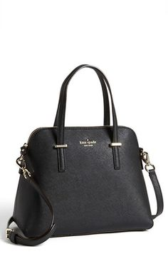 3492e9af72709 Kate Spade New York  Cedar Street - Maise  Leather Satchel - Black Projekte