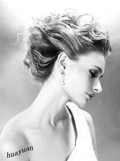 elegant hair and make up