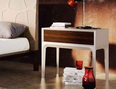 Contemporary Garcia Sabate 1 Drawer Bedside Cabinet Various Colour Choices