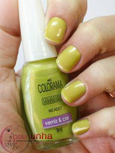 Esmalte Me Add Colorama  http://www.belaunha.com.br/produtos/esmalte-colorama-famosa-me+add.php