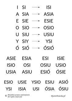Polish Language, Math Equations, School, Montessori, Speech Language Therapy