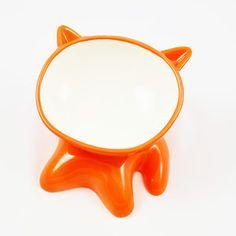 Lulu Cat Bowl Orange now featured on Fab - I really wish it wasn't $44...