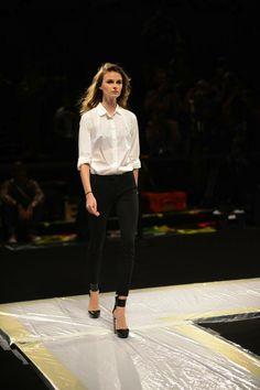#behindthescenes #MBFW #NYFW #herveleger #runway #fashion #preshow