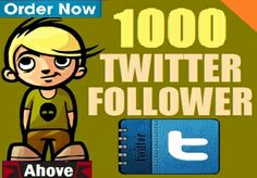 Take 1000+300 Better Twitter Followers In Your Profile for $1